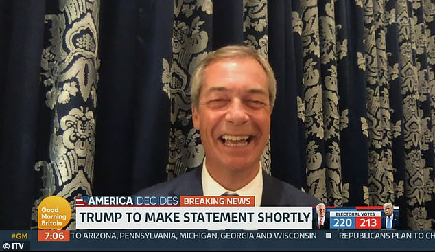Nigel Farage accuses Piers Morgan of 'sinking to the gutter' in row over Trump 'bleach,' comment