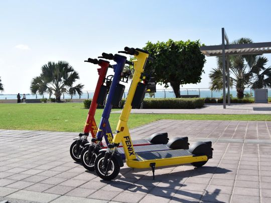Now get ready to zoom around Ras Al Khaimah on e-scooters