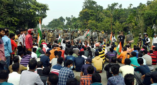 One killed, 20 injured as police open fire on protesters in Tripura