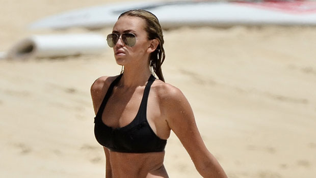 Paulina Gretzky Stuns In Orange Bikini While Vacationing In Palm Beach After Fiancé Dustin Johnson's Masters Win — See Pic