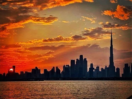 Photos: Gulf News readers share pictures of sunrise and sunset in the UAE