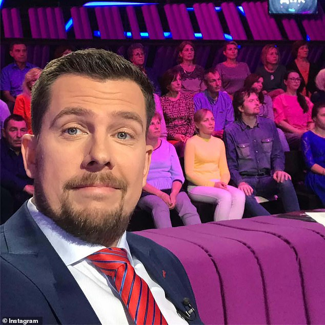 Popular Russian TV talk show host, 41, is killed after light plane crashes in field