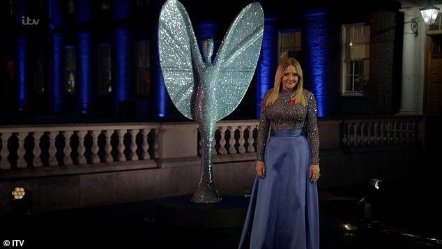 Pride Of Britain Awards 2020: Carol Vorderman wears long blue gown
