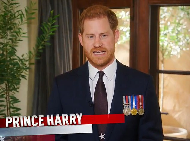 Prince Harry claims service must be done 'in quiet' after fury over 'tasteless' cemetery photoshoot