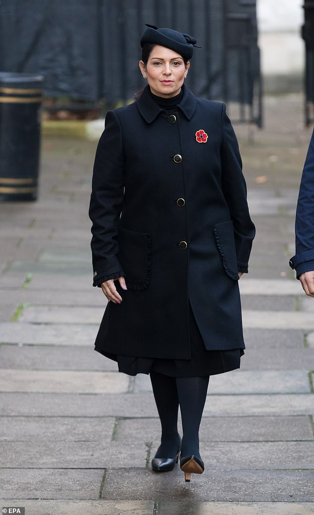 Priti Patel 'will get written warning over staff bullying allegations but STAY Home Secretary'