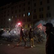 Protesters in Rome clash with police amid rising tensions in Barcelona and Berlin