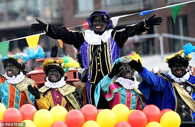 Public libraries in the Netherlands remove children's books depicting 'Black Pete'