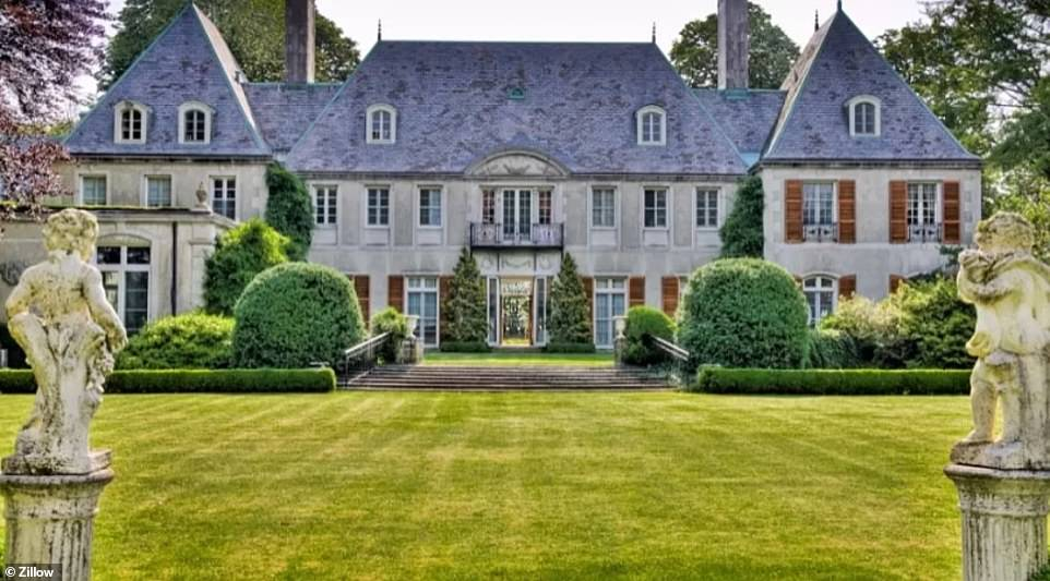 Relive the days of the Great Gatsby! Inside Champ Soleil, one of Newport's famously opulent mansions