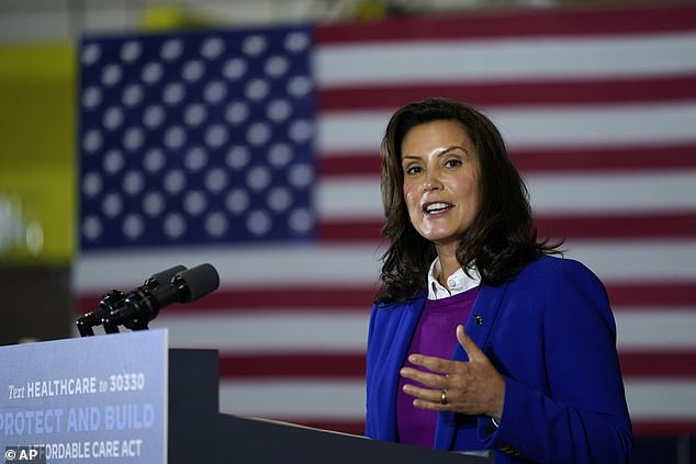 Republicans introduce bid to impeach Michigan Gov. Gretchen Whitmer