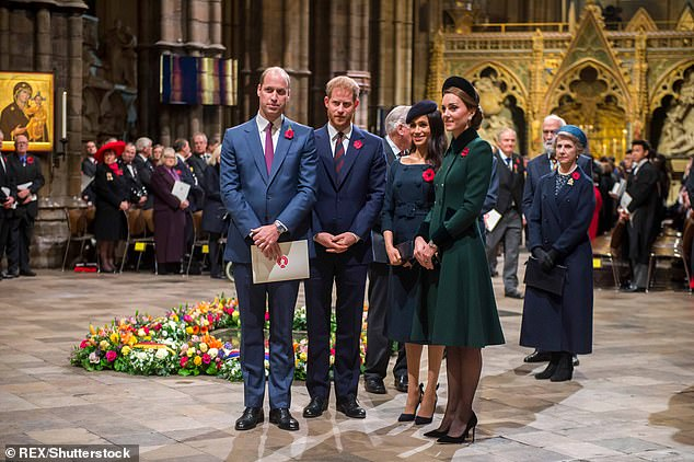 Royals can't sing national anthem at Westminster Abbey Armistice Day service due to Covid-19 rules