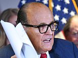 Rudy Giuliani presents his 'evidence' for massive voting fraud at bizarre press conference