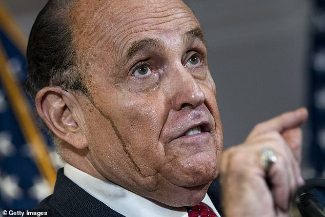 Rudy Giuliani press conference inspires a wave of hilarious memes