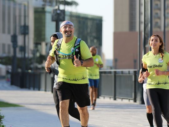 Running communities come together on last day of Dubai Fitness Challenge