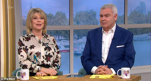 Ruth Langsford and Eamonn Holmes make veiled digs about KILLING people and 'frosty' atmosphere