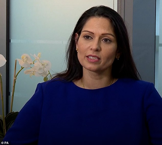 SARAH VINE: If Priti Patel was Labour, the left would be shouting 'it's racism'