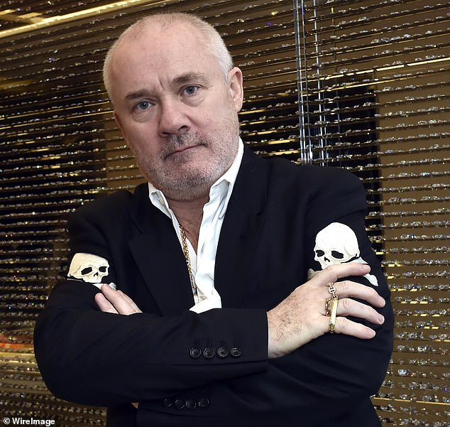 SEBASTIAN SHAKESPEARE: Damien Hirst joins the dots to make a fake worth a fortune