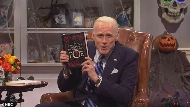 SNL mocks an overconfident Joe Biden as Hillary Clinton returns as a Halloween ghoul