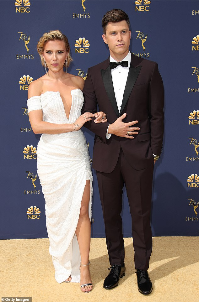 Scarlett Johansson and Colin Jost 'took only WEEKS' to home wedding