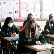 Secondary school pupils and staff in England could be made to wear masks under new rules out today