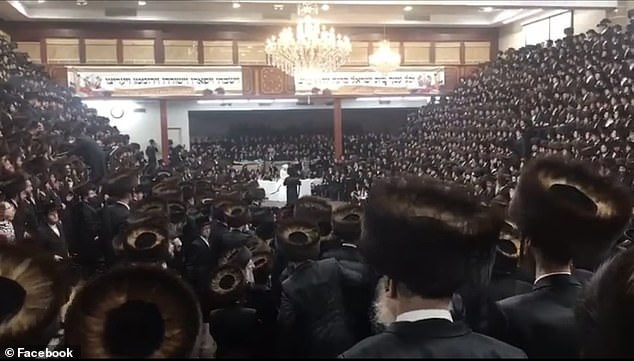 A Hasidic wedding in Brooklyn slipped under the radar of city officials as it crammed 7,000 maskless people into a synagogue in defiance of Governor Cuomo's coronavirus restrictions