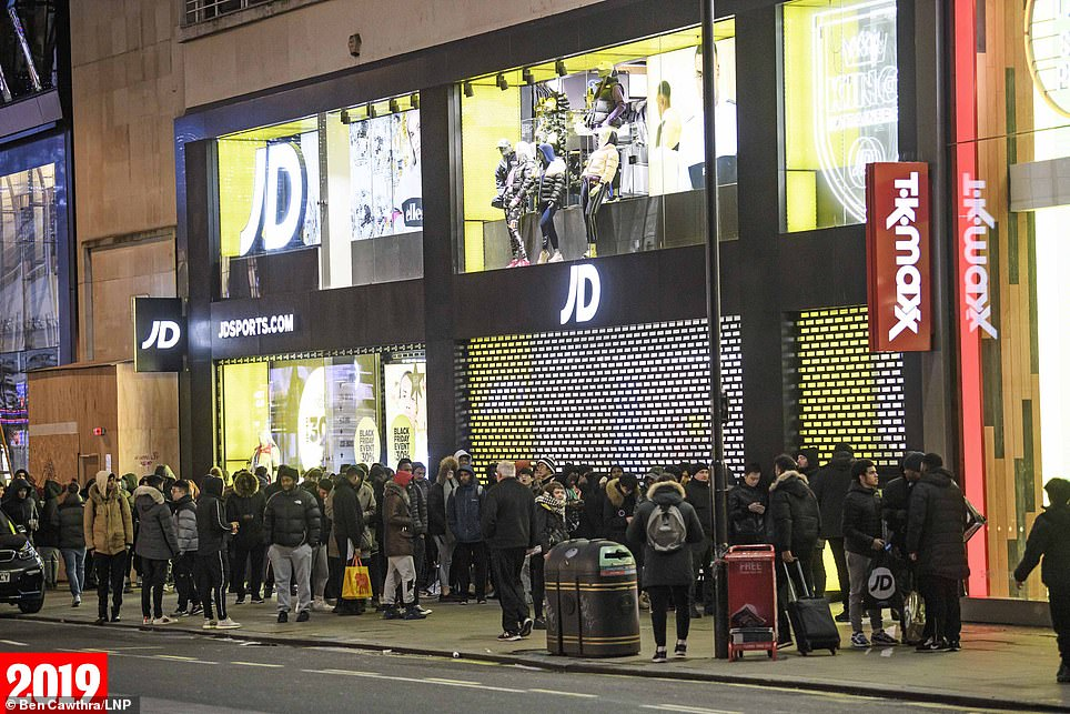 Shoppers set to shun High Street as shops are closed on Black Friday