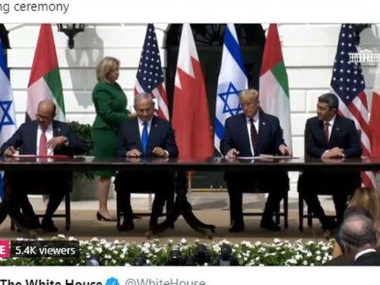 Signing of Abraham Accords 'enhanced UAE's reputation'