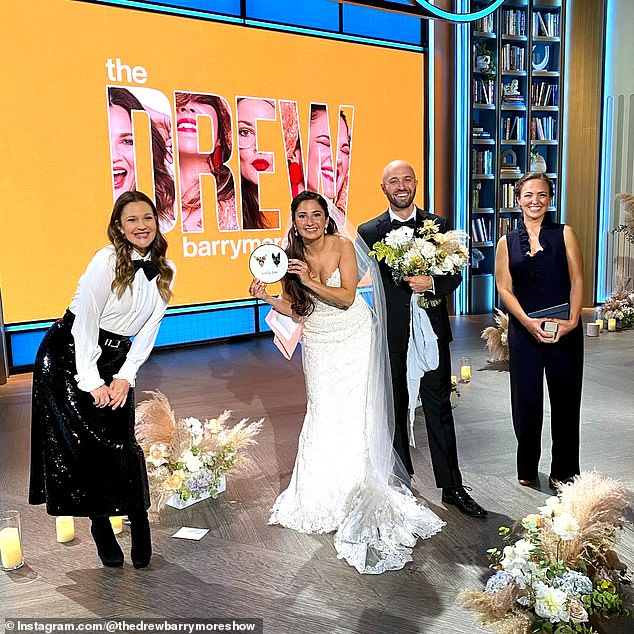 Social media claims teacher married his 'student' on the Drew Barrymore Show