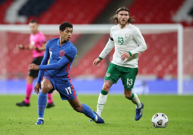 Jude Bellingham looks set for a bright future after making his England debut at 17