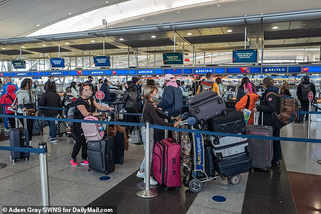 States crack down in a final bid to stop millions traveling across the US for Thanksgiving