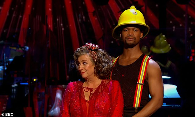 Strictly: Caroline Quentin becomes the fourth contestant to be eliminated from the show
