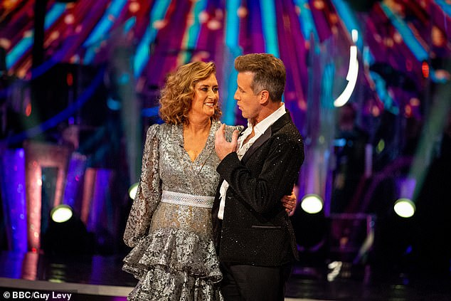 Strictly: Jacqui Smith and Anton du Beke first to be eliminated