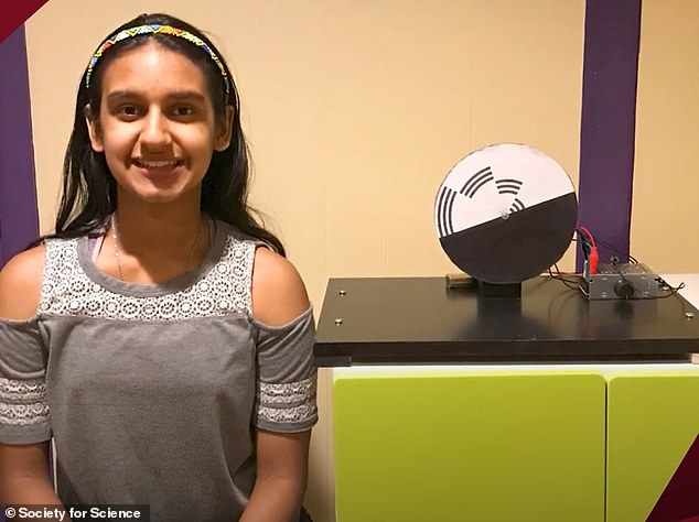 Student, 12, wins $25,000 Samueli Foundation Prize prize for optical illusion project