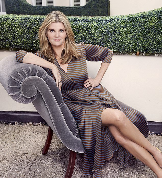 Susannah Constantine reveals she's a recovering alcoholic