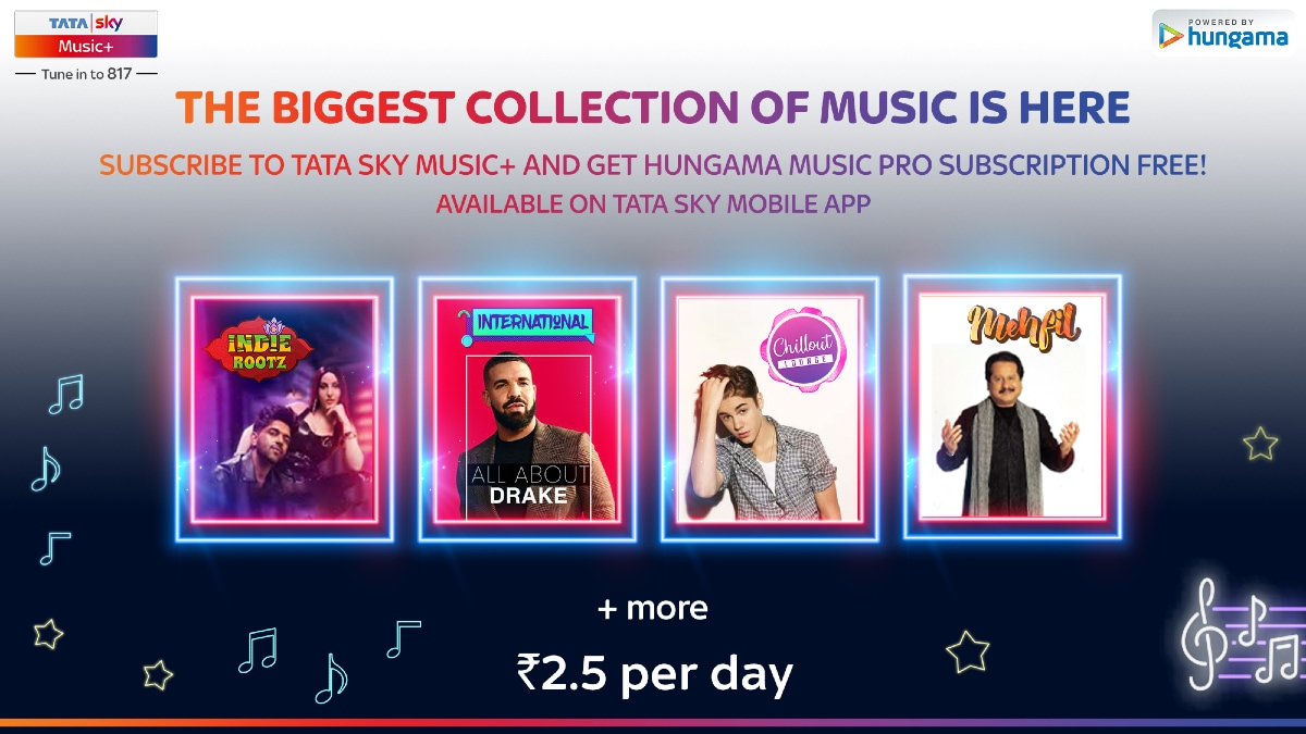 Tata Sky Users to Get Free Hungama Music Pro Subscription: How to Avail