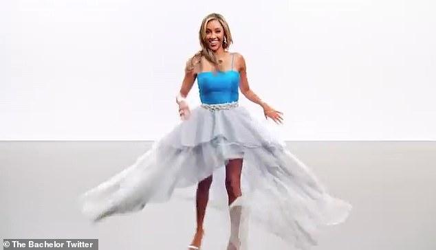 Tayshia Adams unveiled as The Bachelorette