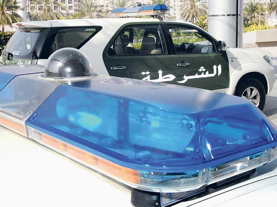 Teen driver, aged 14, crashes into police patrol in Dubai