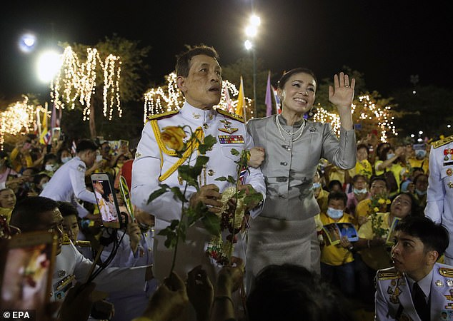 Thailand King says he 'loves' pro-democracy protesters demonstrating in attempt to curb his powers