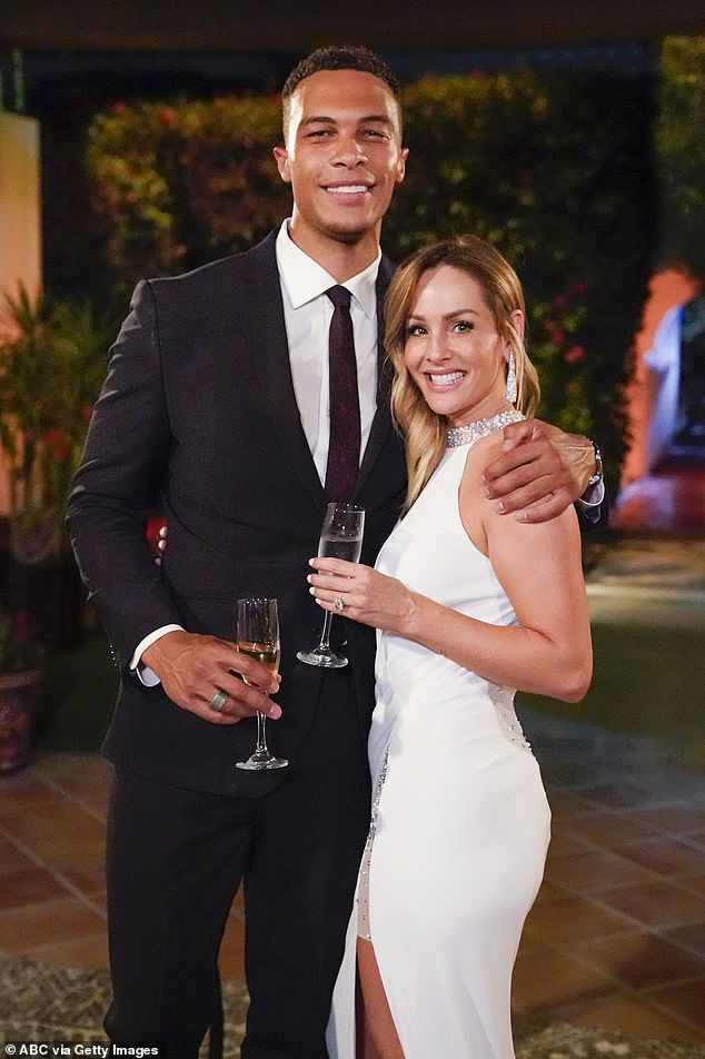 The Bachelorette: Clare Crawley shows off $100K diamond engagement ring