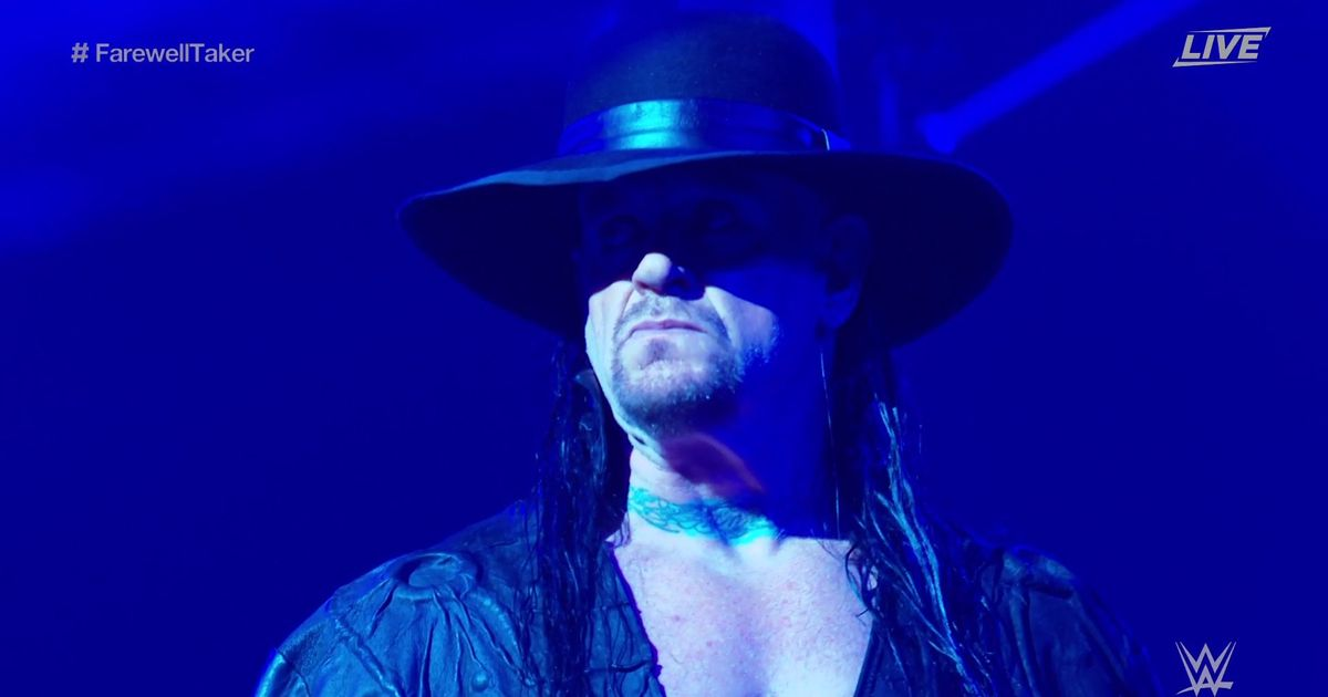 The Undertaker retires and bids farewell at Survivor Series