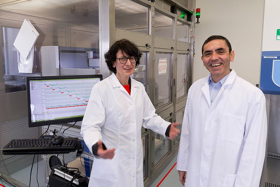The husband and wife behind covid vaccine that could change the worl