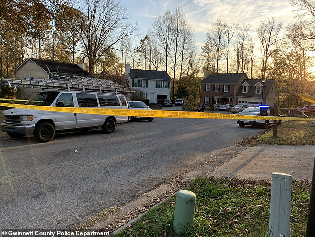 Three men are found dead after Georgia cops are called to a shooting in a cul-de-sac