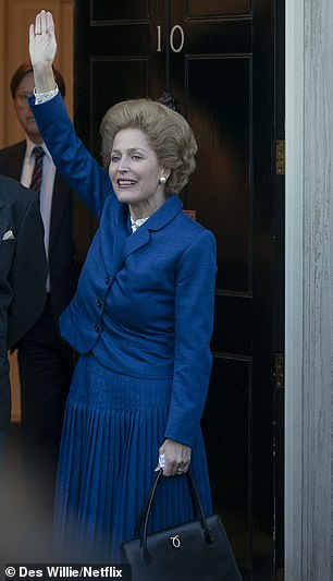 Tory MP blasts The Crown's portrayal of Margaret Thatcher