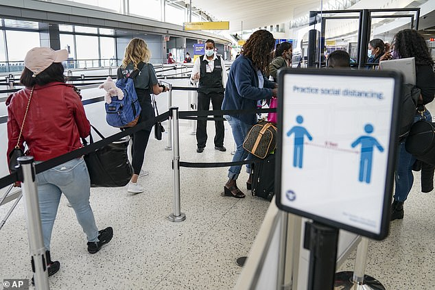 Travelers to New York from TODAY can isolate for just four days if they provide a negative test