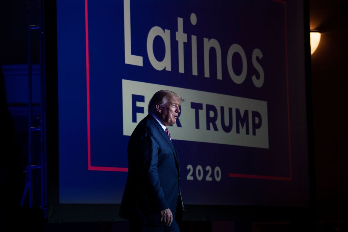 Trump narrowly wins in America's most Latino county. He lost it in 2016