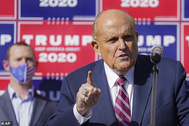 Trump puts Rudy Giuliani in charge of voter fraud lawsuits as he rants on Twitter