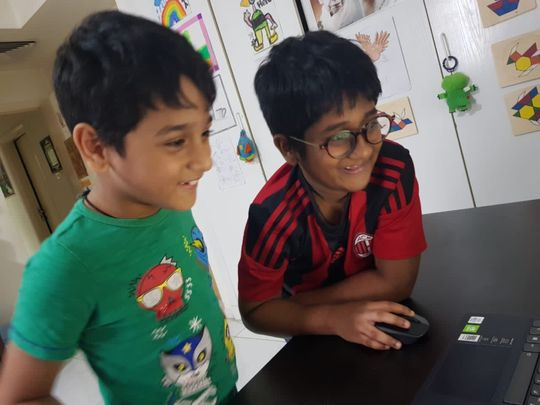 Two Dubai siblings use their Math skills for a noble cause