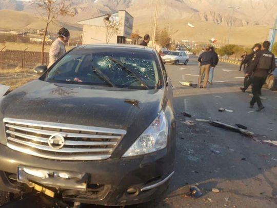 UAE condemns assassination of Iran's Mohsen Fakhri Zadeh