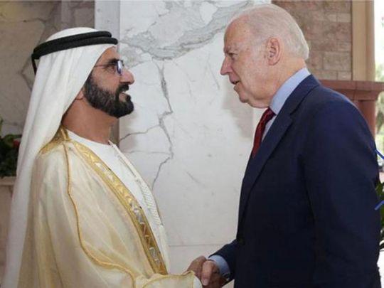UAE rulers congratulate Joe Biden on US election victory