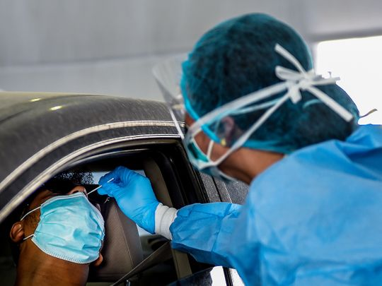 UAE sees an 11% increase in the number of COVID-19 tests taken