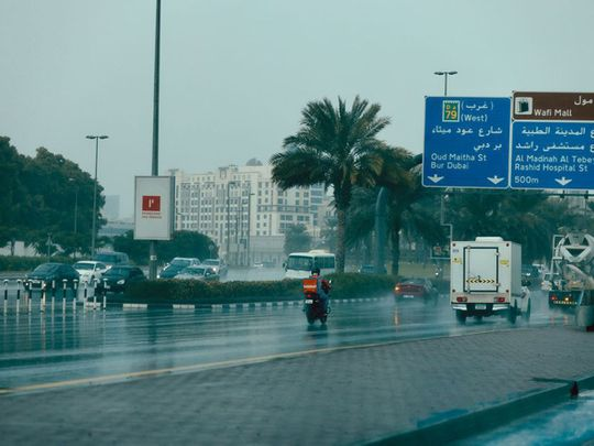 UAE weather: It's partly cloudy with a chance of rainfall across the emirates